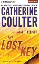 J T Ellison, Catherine Coulter LOST KEY Unabridged CD *NEW* FAST Ship!
