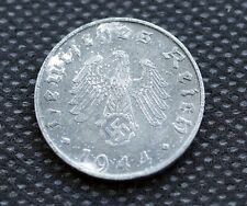 WW2 10 REICHSPFENNIG 1944 COIN *B* WW2 THIRD REICH GERMANY HITLER ERA  /34