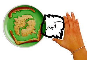 Batman BatBytes Bat Logo Shape Sandwich Bread Crust / Cookie Cutter - Black