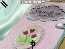U-Heft Hülle Wolke mit Tulpen in rosa Uheft Impfpass