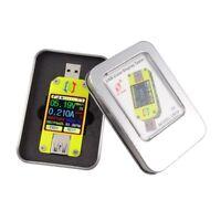 RD UM34C UM34 APP USB 3.0 LCD Display Voltmeter Ammeter Cable Resistance Tester