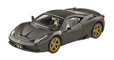 Ferrari 458 Speciale 2013 Black Elite 1:43 Model HOT WHEELS