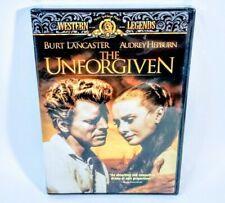 The Unforgiven (Dvd, 2003) Brand New Sealed Burt Lancaster Audrey Hepburn