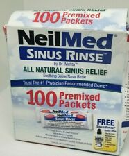 NeilMed RDC10130821 Sinus Rinse All Natural Relief 100 Premixed Packets X 6/2022