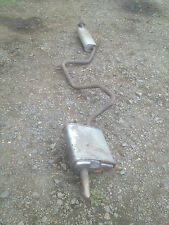 Ford Mondeo Mk3 Estate (2000-07) 1.8 Petrol Centre and Rear Exhaust Boxes