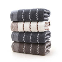 Fine Cotton Towels Soft Absorbent Bath Sheet Hand Bathroom Towels Wash Cloth