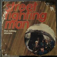 The Rolling Stones – Street Fighting Man / No Expectations 45 Giri Italia 1968