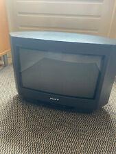 Rare Sony Trinitron KV-16WT1 Widescreen CRT TV Retro Gaming - 50hz - Europe plug