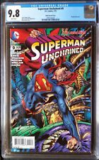 Superman Unchained (2013 DC) #9 Hitch Variant CGC 9.8 1:50