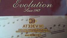 Audio Technica AT33EV MC-Tonabnehmer nackt elliptischer Stein 0,3 mV NEU und OVP