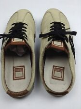 CAT Caterpillar Womens Slipon Sneakers Leather Lace Up Size 9.5