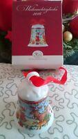 Hutschenreuther German porcelain christmas bell campanella natale Kerst Glocke