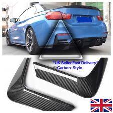 BMW F80 M3 F82 M4 Fibra De Carbono ingesta de Parachoques Trasero Recortar