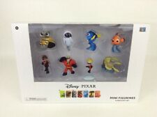 Disney Pixar Thinkway Toys 8-Piece Mini Figure Gift Set WALL-E Nemo Incredibles