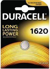 1 x DURACELL cr1620 3v Litio Pulsante Batteria moneta cella 1620 dl1620 br1620 ecr16