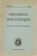 DOCUMENTS PHILATELIQUES + Revue de l'Académie de philatélie - 1959 N° 2 BENIN