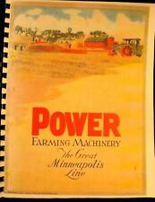 1925  The  Great Minneapolis  Threshing Machine Co, Annual Sales Catalogue F/S/H