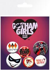 DC Comics Gotham Girls Harley Quinn Badge Pack