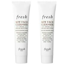 Lot of 2, New FRESH SOY FACE CLEANSER, 20 mL/ each