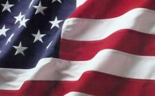 6x10 foot Polyester US Embroidered Flag American USA