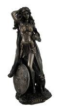 Norse Goddess Freya Antique Bronze Finish Statue
