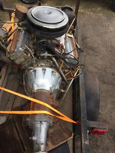 Hemi 1956 Mopar DeSoto 330 V8 4 BBL Fireflite Engine w/ 93,000 original miles