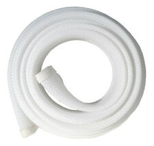 Fisual Zip Up Cable Tidy Wrap - White - 2M