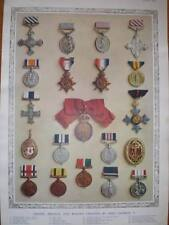 Photograph King George V Orders Medals Badges 1935