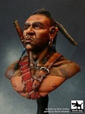 Black Dog 1/10 Native American Warrior from Huron Tribe of Indians Bust B10005