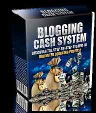 EBOOK: Blogging Cash System GELD VERDIENEN Blog Blogs Kunden Liste aufbauen MRR