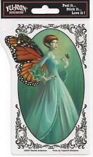 Monarch Fairy Butterfly Faery Sticker Car Decal Rachel Anderson faerie