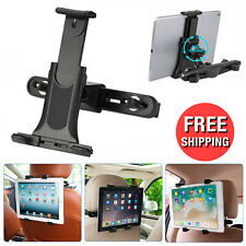 360°Car Back Seat Headrest Mount Holder Stand for 3.5-10 IN Phone Tablet PC iPad