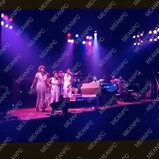 ORIGINAL NEVER SEEN 35mm film slide STEVIE WONDER  PHOTO 1974 concert W15