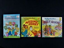 Lot of 3 Big Book of the Berenstain Bears Weekend At Grandma's Missing Honey