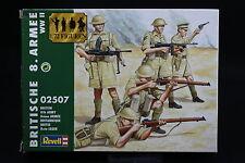 XP011 REVELL 1/72 maquette figurine 2507 8ème Armée Britannique WWII
