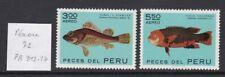 Pérou 1972 PA 312-13 ** Poissons