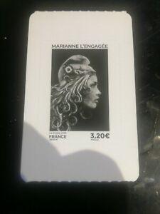 France 2019 – Autoadhésif Neuf** – Y&T N° 1655, 3,20€ noir, Maxi Marianne (Rare)