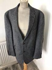 M&S Moon Grey Tweed Herringbone tweed jacket chest 46 Medium
