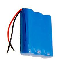 3.7 volts 10200mAh 1S3P Li Ion Battery Pack PCB protected Panasonic Cells