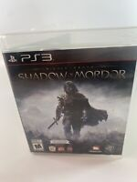 Middle earth Shadow of Mordor PS3 Sony PlayStation 3 Disc Case Tested