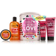 I Love Bath & Body Luxury Xmas Gift Set - Shower Cream/Hand Lotion/Butter/Etc.