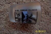U.S. Virgin Islands Souvenir Shot Glass