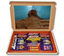 Sphinx Egypt Tomb Desert 24 Bar Cadbury Chocolate Hamper Personalised Gift Box