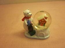 Tiny Polar Bear Snow Globe