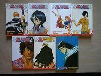Bleach 1-9, Lot of 9 Shonen Manga, English, 13+, Tite Kubo