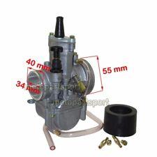 PWK 34mm Carb For Yamaha Honda Suzuki Kawasaki KTM 200cc 250cc 300 350cc Engine