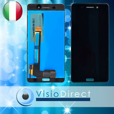 "Schermo per Nokia 6 noir 5.5"" Touch screen + Vetro Lcd Nero"