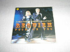 JOHNNY HALLYDAY LARA FABIAN CDS FRANCE REQUIEM POUR UN