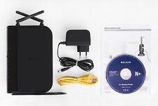 Belkin N+ Wireless Router (Storage Gigabit Networking) F5D8235-4