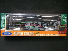Welly Super Coach Series DieCast Metal 1:60 Mercedes-Benz Travego Bus